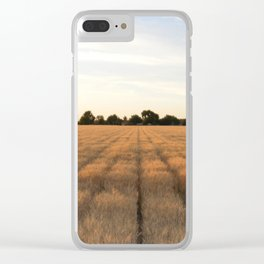 Rows Clear iPhone Case
