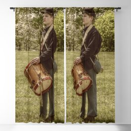 Civil War Drummer Boy Blackout Curtain