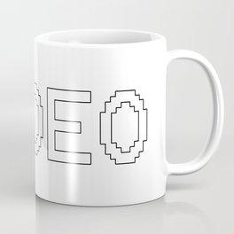 HIDEO MGS Metal Gaming Gear Video game  Coffee Mug