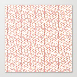 Jali Fusion - Red Canvas Print