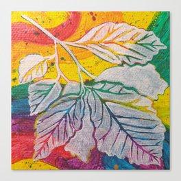 Leaves on the World Tree: Azerbaijanis Iron Tree Canvas Print