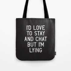 Chat Tote Bag