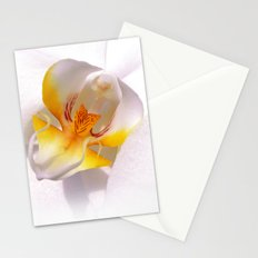 orchid macro IV Stationery Cards