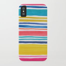Sunny Day Stripes iPhone Case
