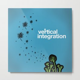 vertical integration Metal Print