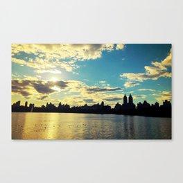 NYC Reservoir Canvas Print
