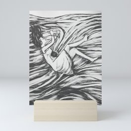 Mental health Series: Anxiety Mini Art Print