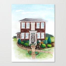 Luci's Garden Canvas Print