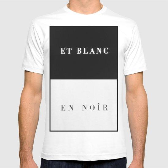 Et Blanc En Noir T-shirt