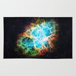 Crab Nebula Rug