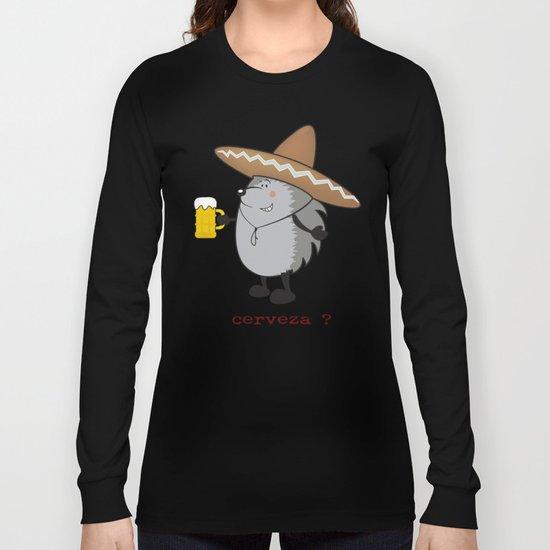 cerveza? Long Sleeve T-shirt