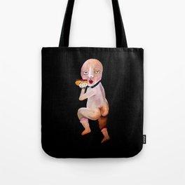 Hotdog Cherub Tote Bag
