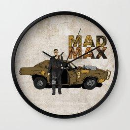 The Road Warrior Wall Clock