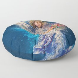 Guardian Angel Floor Pillow