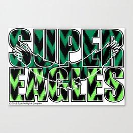 Nigeria Super Eagles ~Group D~ Canvas Print