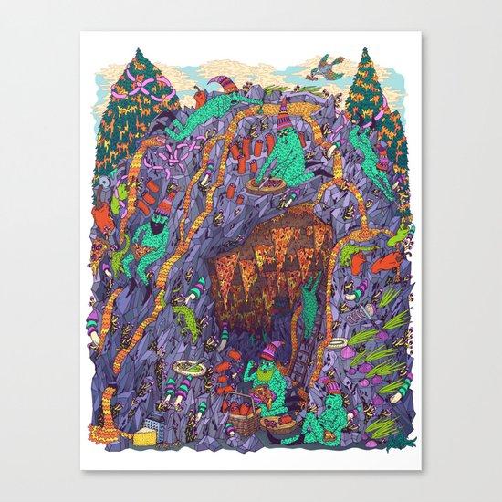 The Pizza Mine Canvas Print