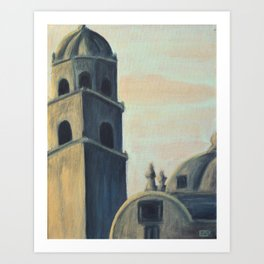 Under Painting Study Art Print