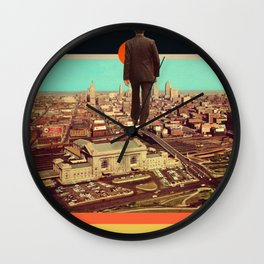 Away Wall Clock