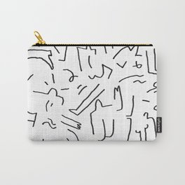 doodle people 2 Carry-All Pouch
