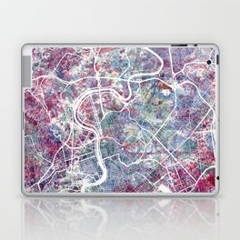 Rome map Laptop & iPad Skin