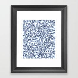 Infinity nets by Yayoi kusam Framed Art Print