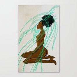 Eagle Goddess Canvas Print