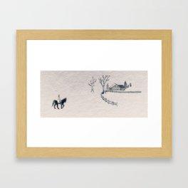 Varykino Framed Art Print