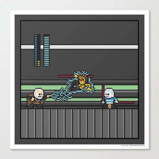 Mega Boss Battles - Dooku vs. Asajj & Savage Canvas Print