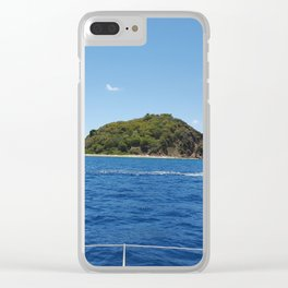 Sailing the BVI Clear iPhone Case