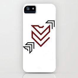 Arrow to your heart iPhone Case