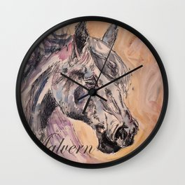 Malvern Horse Wall Clock