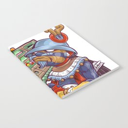 Tezcatlipoca Old School Hip Hop Notebook