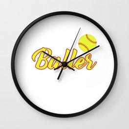 Just A Baller From Alaska Wall Clock