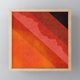 Volcanic Rock Framed Mini Art Print
