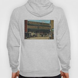Bowery NYC Double Decker Elevated Train Hoody