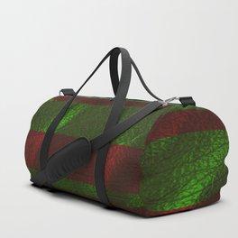 Christmas Foil Duffle Bag