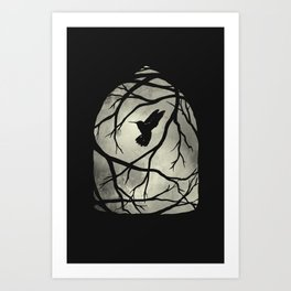 my heart; my home; my cage Art Print