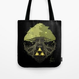 Deku Tree Full Colour Tote Bag