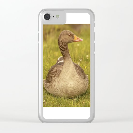 Goosey Lucy Clear iPhone Case