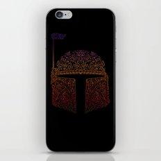 Bobba Neon Fett iPhone & iPod Skin