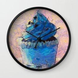 Romantic Cupcake Wall Clock