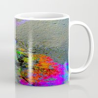 2pac Mugs featuring Urban Rainbow by a.rose