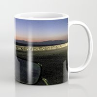 motorbike Mugs featuring Motorbike Vision by Cassandra Evelyn