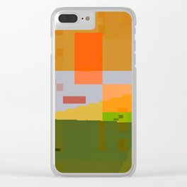 lookin' forward to spring Clear iPhone Case