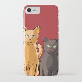 Roommate Cats iPhone Case