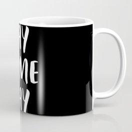 Yay Game Day Football Sports Team White Text Coffee Mug