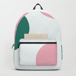 Strange feeling - on white background Backpack
