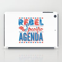 rebel iPad Cases featuring Rebel by Word Quirk