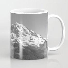 Mount Rainier B&W Coffee Mug