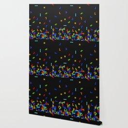 Tetris Time Wallpaper